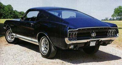 Ford Mustang 1967. Motori: