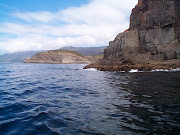 . friendly boat charters that will take visitors to Bruny Island, . (rock formations on the coast of bruny island)