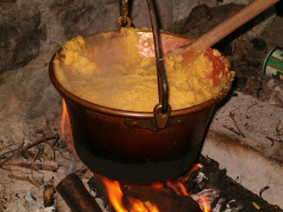 Cooking Polenta