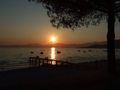 Sunset, Lake Garda