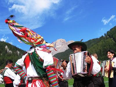 Fiesta ladina,Canazei