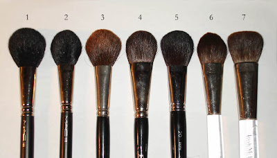 how to clean blush brush