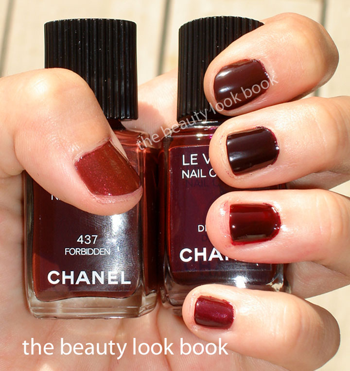 Chanel Forbidden, Diabolic, Vamp, Rouge Noir And Some