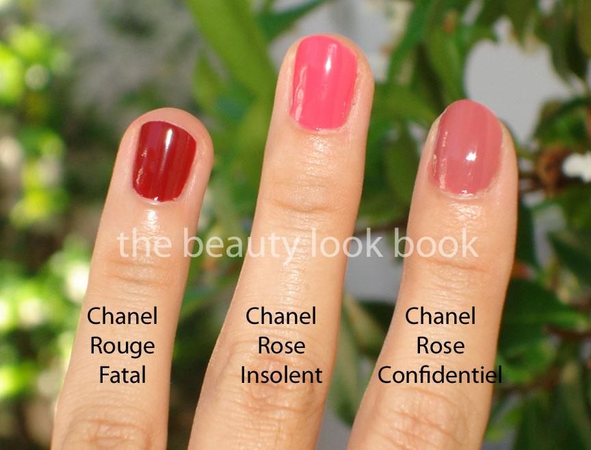 Chanel Le Vernis Rouge Fatal Rose Insolent Rose