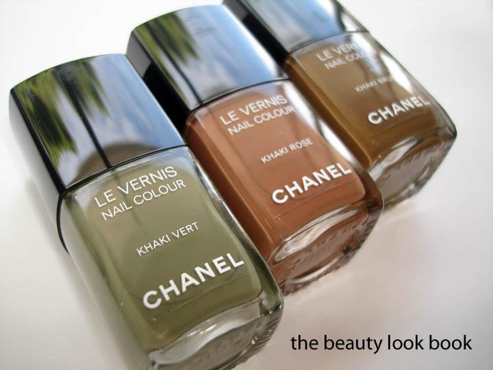 Les Khakis de Chanel: Khaki Brun, Khaki Vert & Khaki Rose ...
