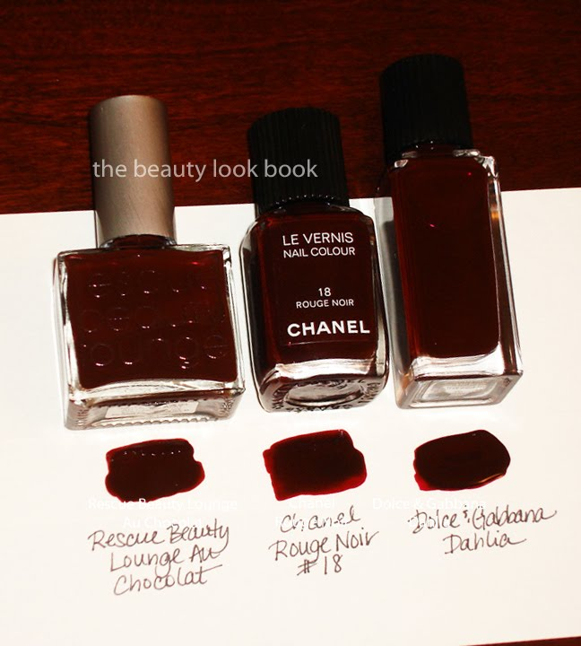 Chanel Rouge Noir Le Vernis: Can You Dupe It? | The Beauty Look Book