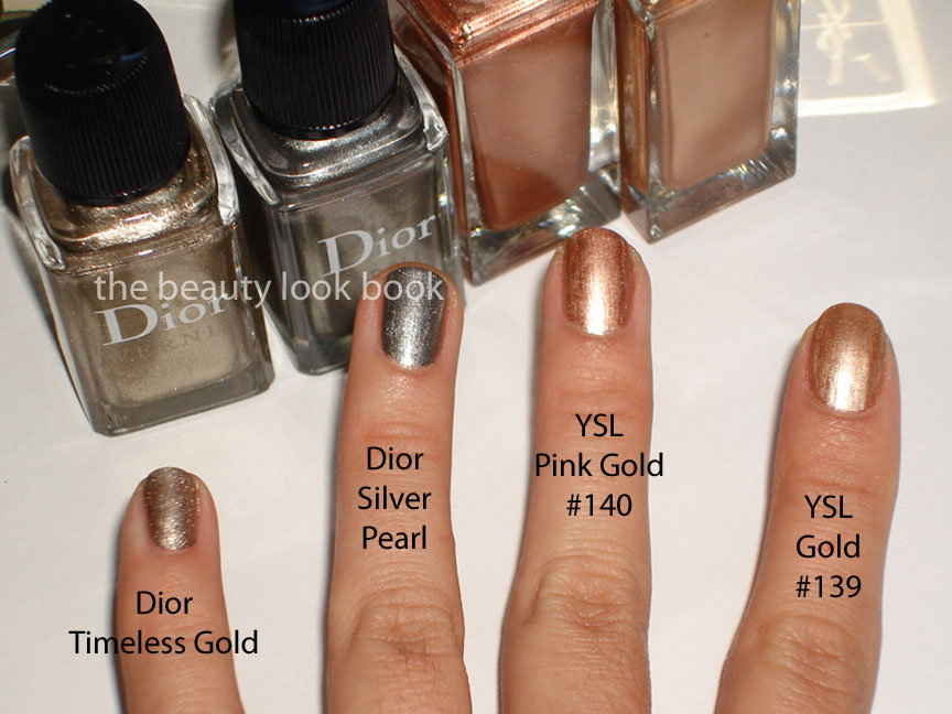 Getting Ready for New Year\'s Eve with Metallic Glitzy Nails | The ...