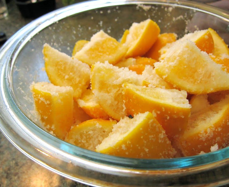 bream with caramelized lemons salt preserved meyer lemons salted lemon ...