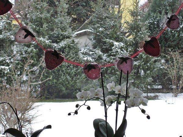 kleeblatt erdbeeren im winter. Black Bedroom Furniture Sets. Home Design Ideas
