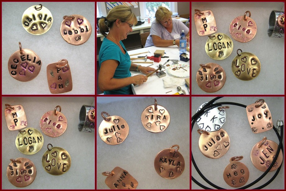 Maryhardingjewelry bead blog book review stamped metal for Metal stamping press for jewelry