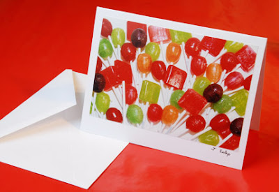 Lollipops Card by Jeanne Selep of Selep Imaging