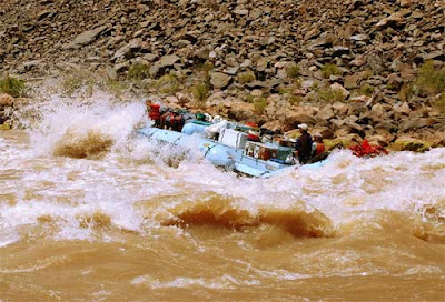 rafting Grand Canyon by Selep Imaging