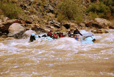 Colorado river rafting by Jeanne Selep Imaging