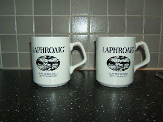 whisky review - Laphroaig_mugs