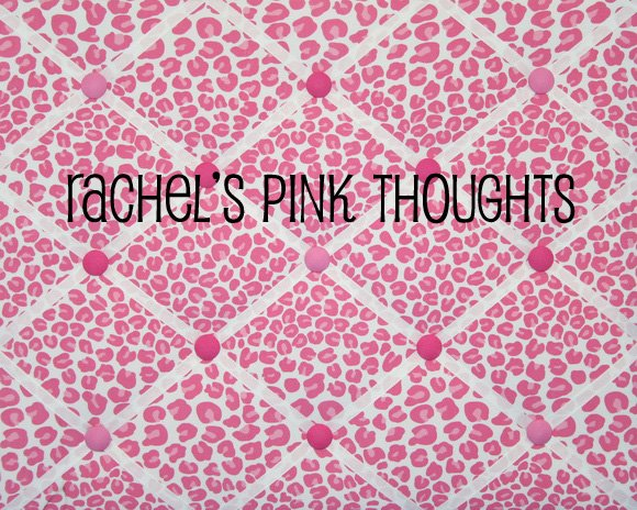 Rachel's pink thoughts
