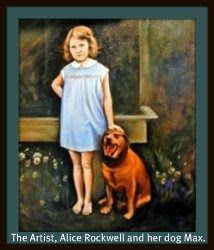 Most of the artwork on this blog is original paintings by Alice Rockwell   - my mom : )