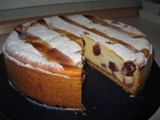 recepti za kolače Torta od sira i višanja