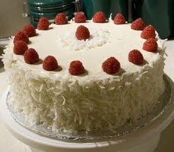 Kokos torta sa malinama recepti za kolače i torte