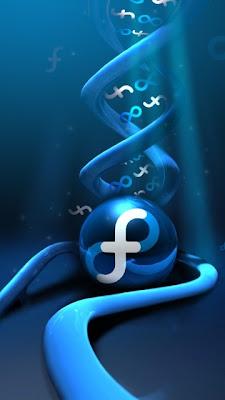 Fedora Linux - spirale download besplatne pozadine slike za mobitele