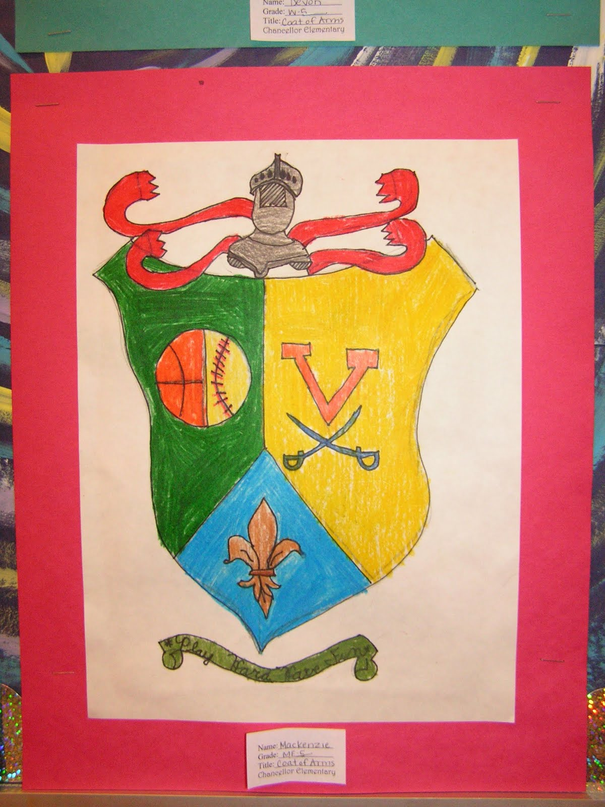 coat of arms project Heraldry heraldry began as badges of recognition the symbols, which are called charges, were first painted on the shields of knights during the twelfth century.