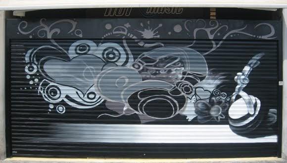 Berok graffiti mural profesional en barcelona murales for Murales decorativos para interiores