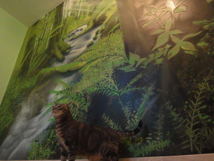 Berok graffiti mural profesional en barcelona diciembre 2010 - Pinturas para paredes de dormitorios ...
