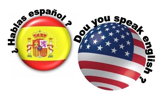 Resultado de imagem para espanhol-english