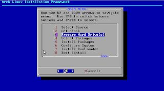 ArchLinux - Preparar Discos Duros