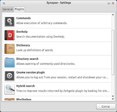 Synapse Settings Plugins