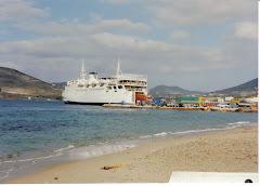 To λιμάνι της Πάρου τη δεκαετία του ΄80