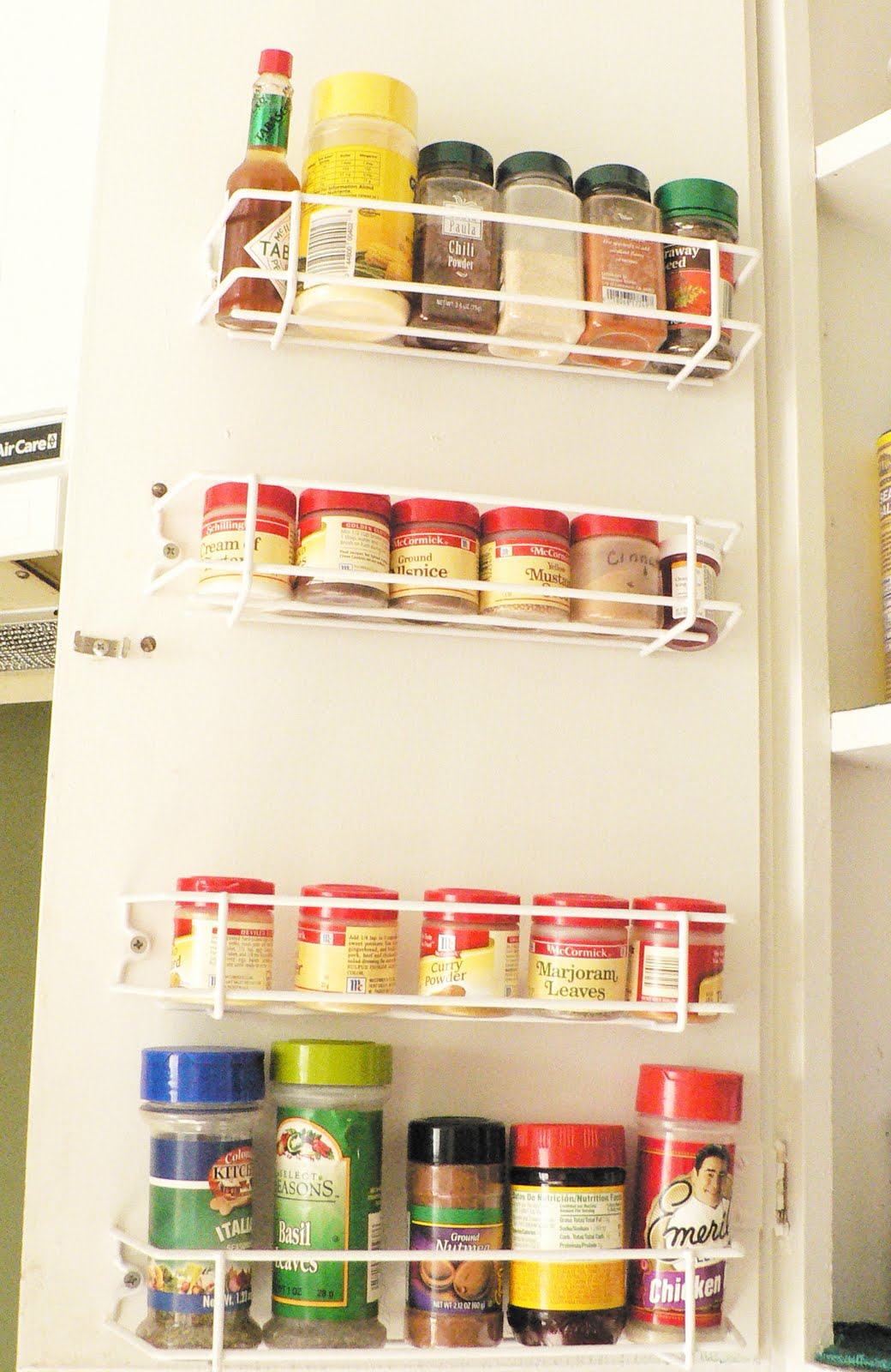 CabiDoor Spice Rack