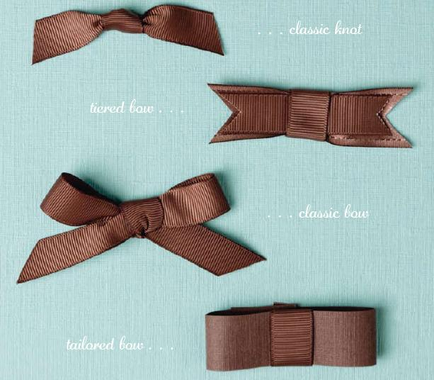 The Cupcake Cricut: How To Tie A Perfect Bow