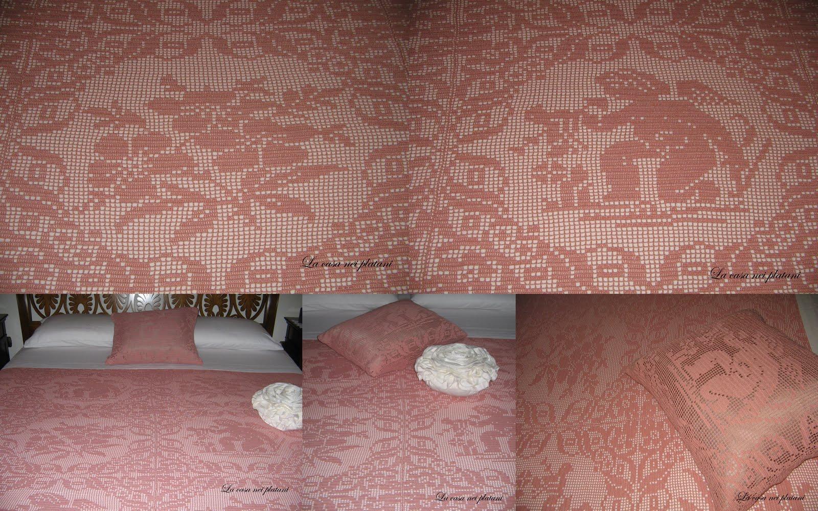 Camere Da Letto Rosa Antico : La casa nei platani coperta rosa antico