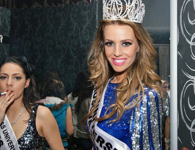 Singer/Model Aferdita Dreshaj was crowned Miss Universe Kosovo 2011 in a