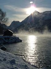 Frostrøyk på Nordfjorden