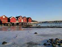 Frost på Skaftö