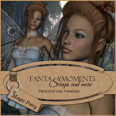 Fantasymoments: Poser Tubes Magic Fairy