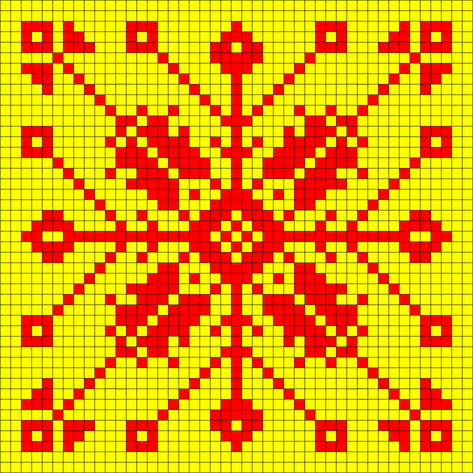 Current image within free printable bead loom patterns