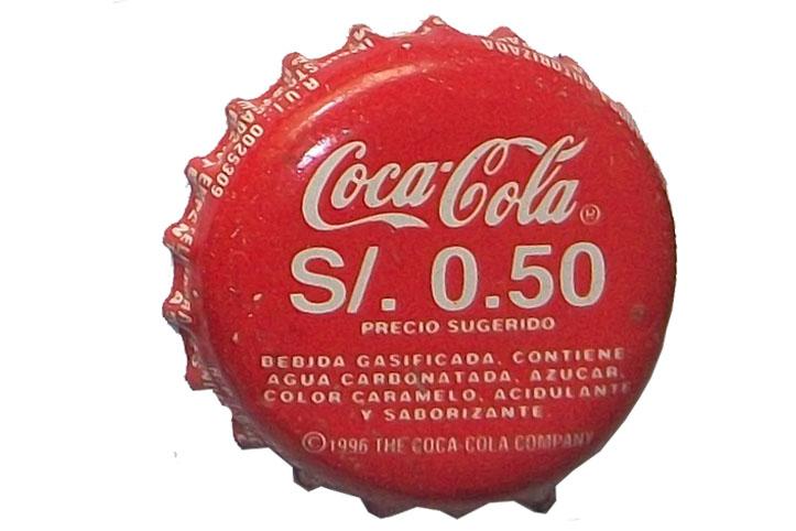 Colecci n de chapas coca cola lima presentaci n popular - Chapa coca cola pared ...