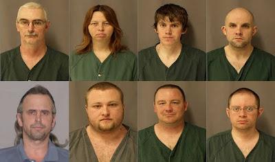 Michigan militia mugshots