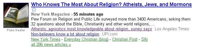 Religion Headlines
