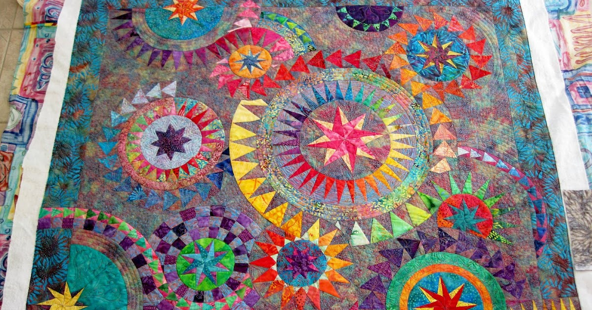 Finely Finished Quilts Lory S Colourful Quilt
