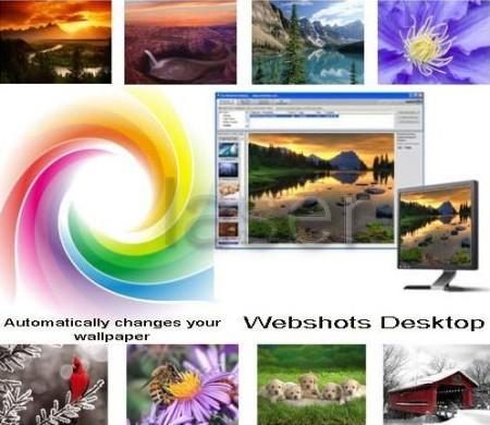 تحميل برنامج Webshots Desktop 3.1.5.7617  الذي يقوم بتغيير صور سطح المكتب