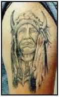 native america tattoos design