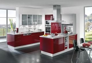cocina-rojo-blanco-acero-blanco-madrid-linea-3-cocinas