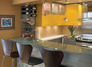 cocina-amarilla-gris-altillos-madrid-linea-3-cocinas