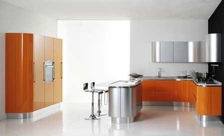 Dise o y decoraci n de cocinas es formica en alto brillo - Linea 3 cocinas ...