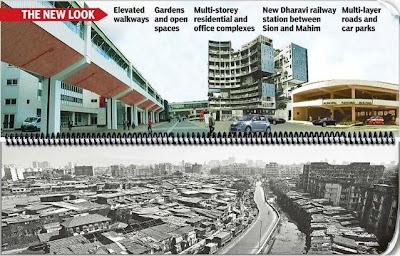 Dharavi Mumbai slum makeover rebuilding dharavi