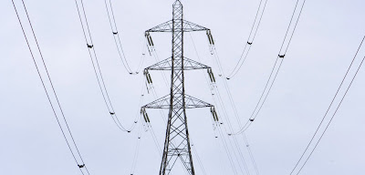 High tension transmission lines