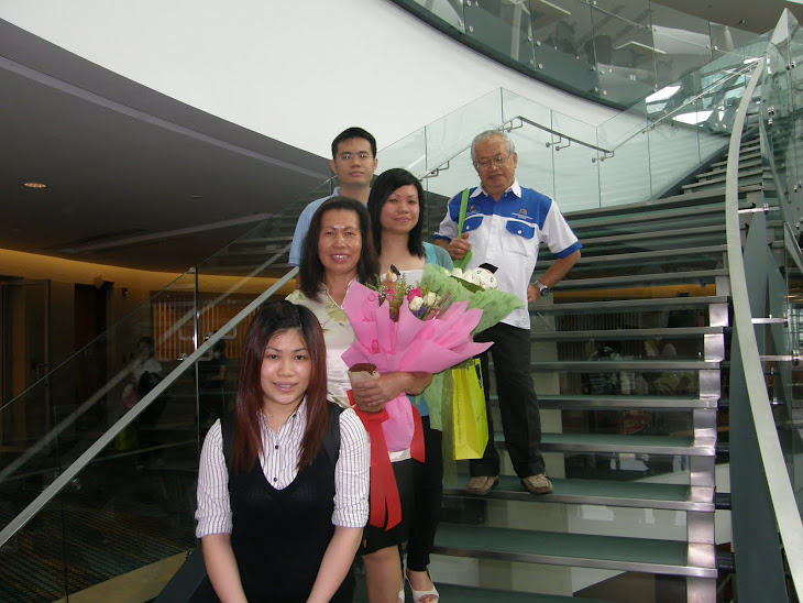 On My Youngest Daughter Ai Hsing (Front) Graduation Day